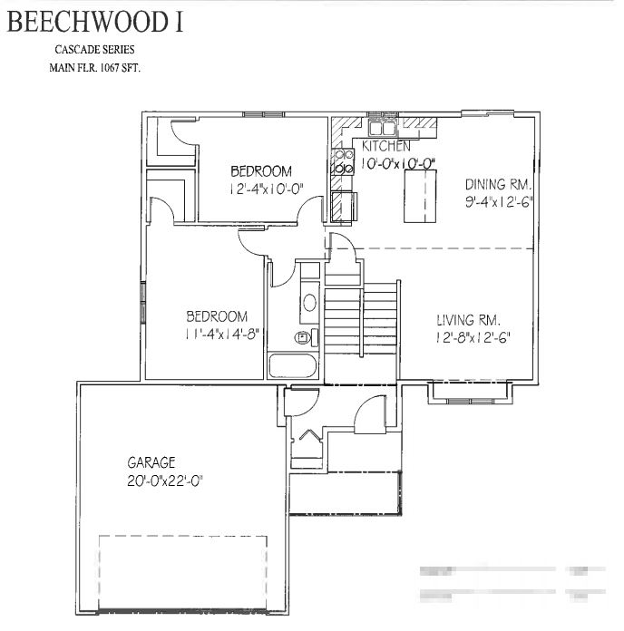 Beechwood i floor plan progressive builders for Share builders plan