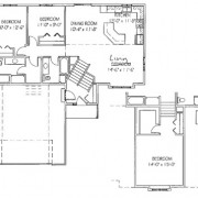 The Ironwood: 2 bed, 2 bath floor plan