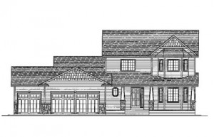 The Olivia: 3 bed, 3 bath home