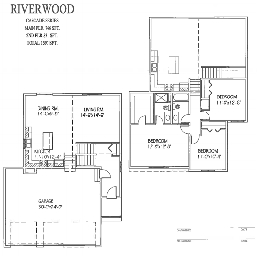 Riverwood floor plan progressive builders for Share builders plan