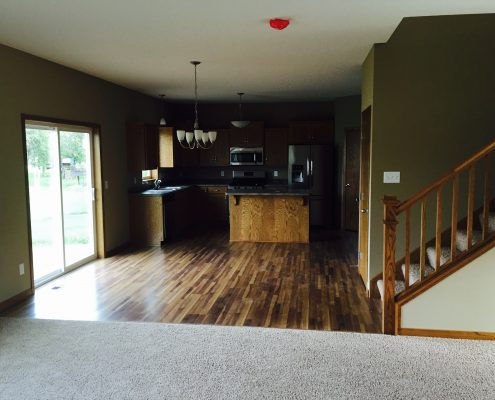 11160 Olymipa Ave SE Kitchen/Living Room