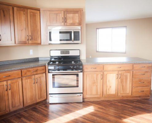 Bayview Kitchen Stove/Microwave