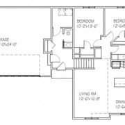 The Aspen: 2 bed, 2 bath floor plan