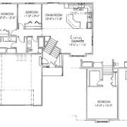 The Ironwood: 2 bed, 2 bath floor plan