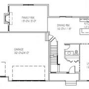 The Julia: 2 bed, 2 bath floor plan