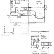 The Katelyn: 3 bed, 2 bath, 1712 sq ft floor plan