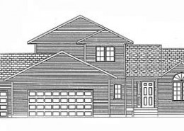 The Sommerset: 4 bed, 3 bath home