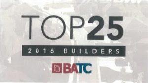 BATC 2016 Top Builders