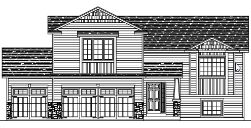 Floor plan of a move-in ready home in Big Lake, MN located at 17100 Trillium Lane.